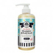 BIGGREEN Baby Shampoo and Body Wash-All Natural Ingredients-