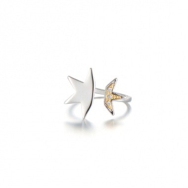 Shooting Star Clubber Ring
