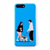 Uncommon X Vagab Deflector iPhone Case - PET BLUE