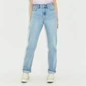 WIDE SLIM PANTS HS [LIGHT BLUE]