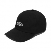 CIRCLE LOGO BALL CAP HS [BLACK]