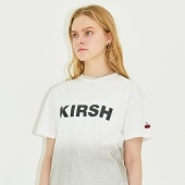 KIRSH LOGO T-SHIRT HS [GRAY]