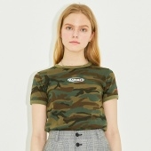 FITTED RINGER T-SHIRT HS [CAMOUFLAGE]