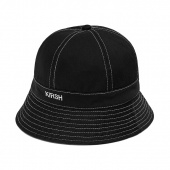 KIRSH LOGO BUCKET HAT HS [BLACK]