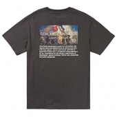 SP LIBERTY TEE SS-CHARCOAL