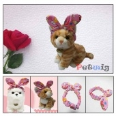 Rabbit pet headband