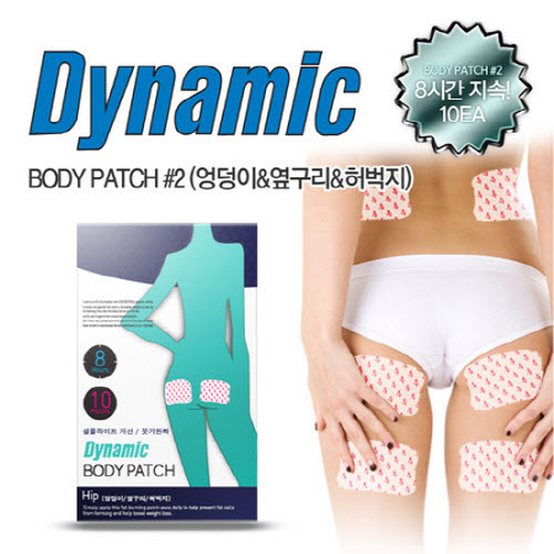 Dynamic Bodypatch Hip/Side/Thigh