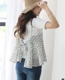 COCOAVENUE sleeveless shirt 375837