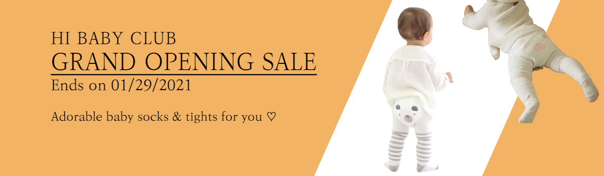 HIBABYCLUB : GRAND OPENING SALE