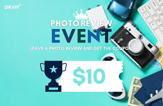 OKVIT REVIEW REWARD EVENT!